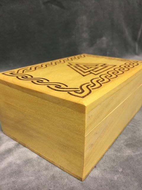 Box Wooden Triangle